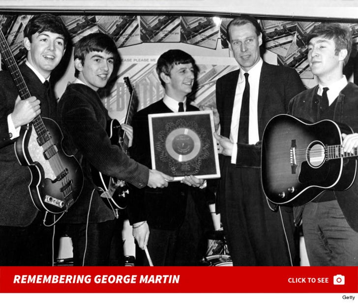 Remembering George Martin