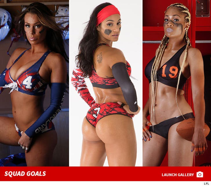 Legends Football League -- Hottest Players of 2016
