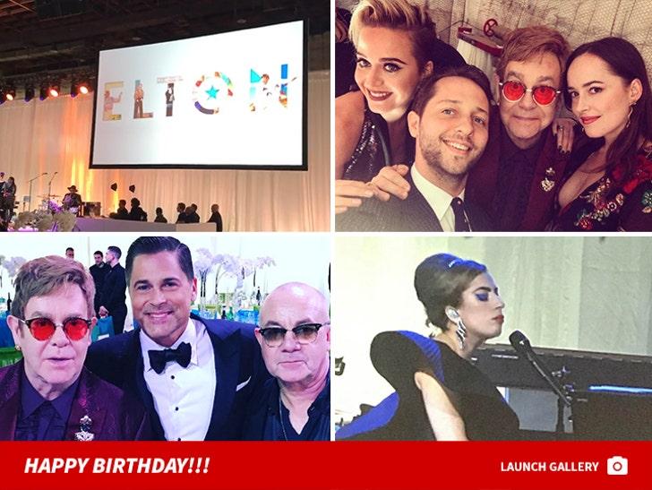 Elton John's 70th Birthday