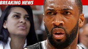 Gilbert Arenas Goes For the Block Against Baby Mama