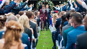 Olympian Tom Daley Marries Oscar Winning Screenwriter at English 'Castle'
