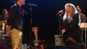 Harry Styles and Stevie Nicks Rock Troubadour with 'Leather and Lace' (VIDEO)
