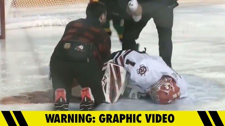 Ontario Hockey League postpones 2 more games after goalie's injury