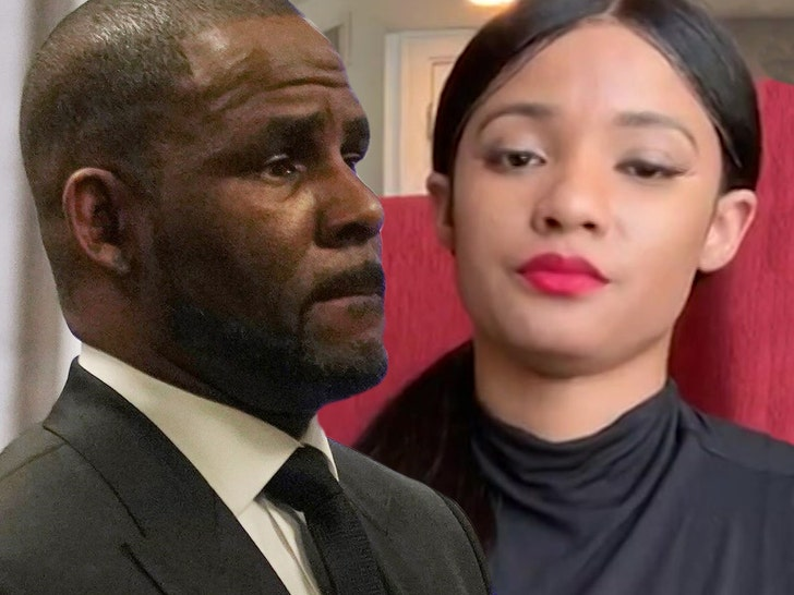 R Kelly's Girlfriend Jocelyn Savage Reveals She Was A Victim