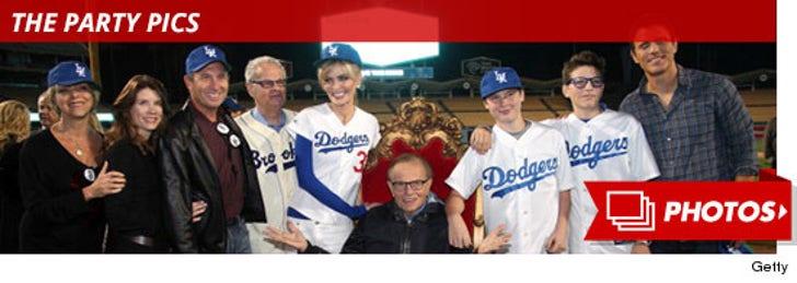 Larry King Birthday Dodger's Stadium