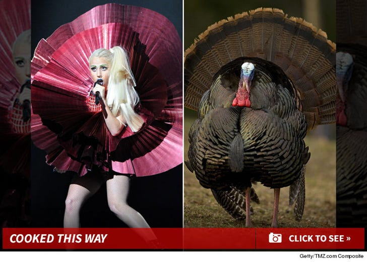 Lady Gaga's Greatest Thanksgiving Looks -- Delicious!