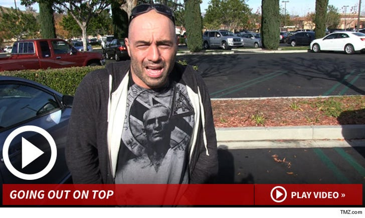 Joe Rogan to Georges St-Pierre -- Stay Retired     Don't Be the Next