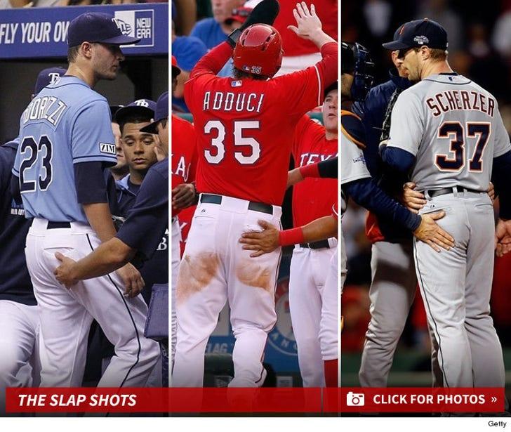 Major League Baseball -- The Slap-Happy Sport!