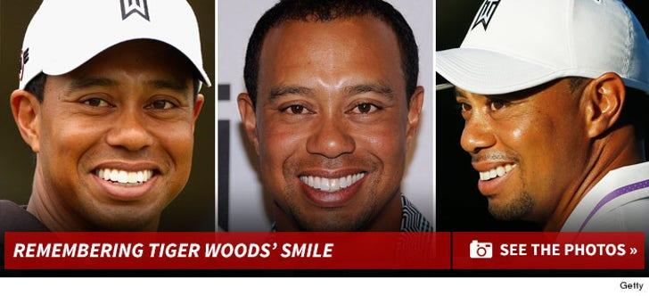 Remembering Tiger Woods' Full Smile