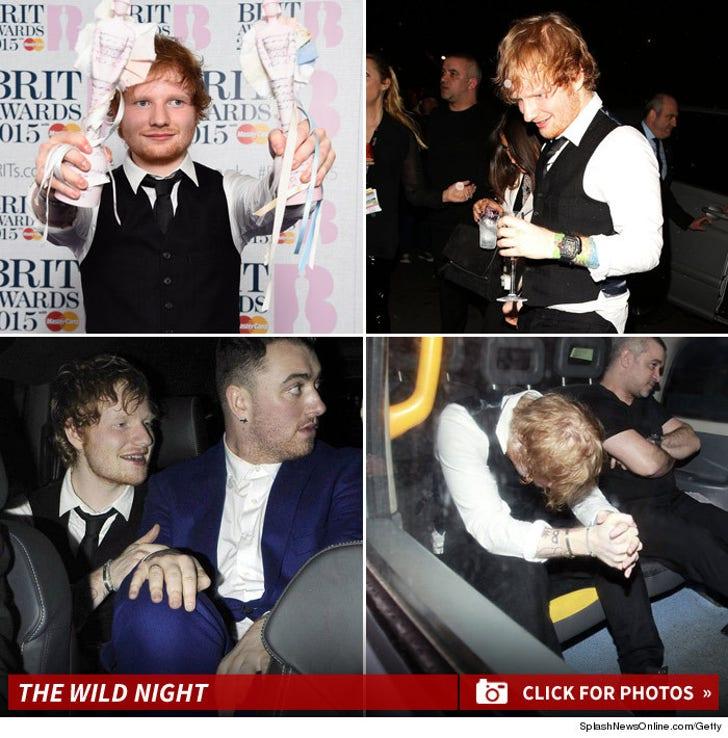 Ed Sheeran's Wild Night