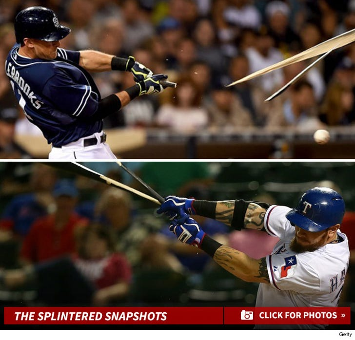 MLB Bats -- From Sluggers to Splinters!