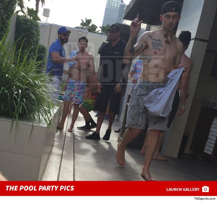 Johnny Manziel at Wet Republic -- The Pool Party Pics