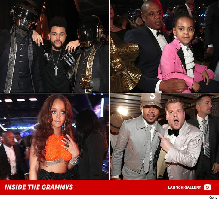 2017 Grammy Awards -- Behind the Scenes