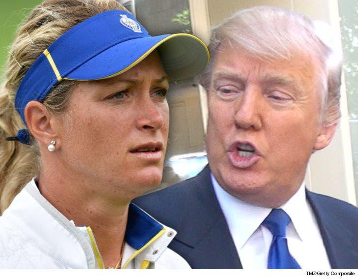 Lpga S Suzann Pettersen Trump Cheats Like Hell At Golf But I Love Him Update