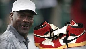 Michael Jordan Custom Game-Worn Air Jordans Hit Auction, Could Fetch $500k