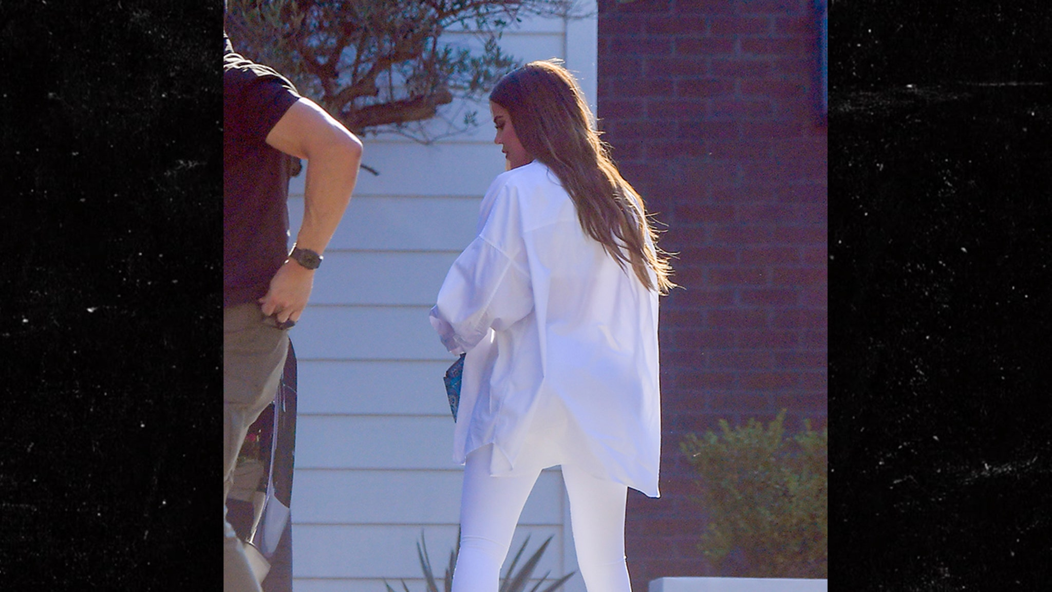 Kardashians Flock to Tristan's House for the 4th Khloe Included, Of Course