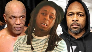 Lil Wayne Says 'Unrelated 3rd Party' Torpedoed Performance at Mike Tyson Fight