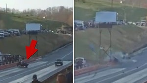 Drag Race Disaster, Car Crashes Into Spectators Leaving Woman Badly Injured