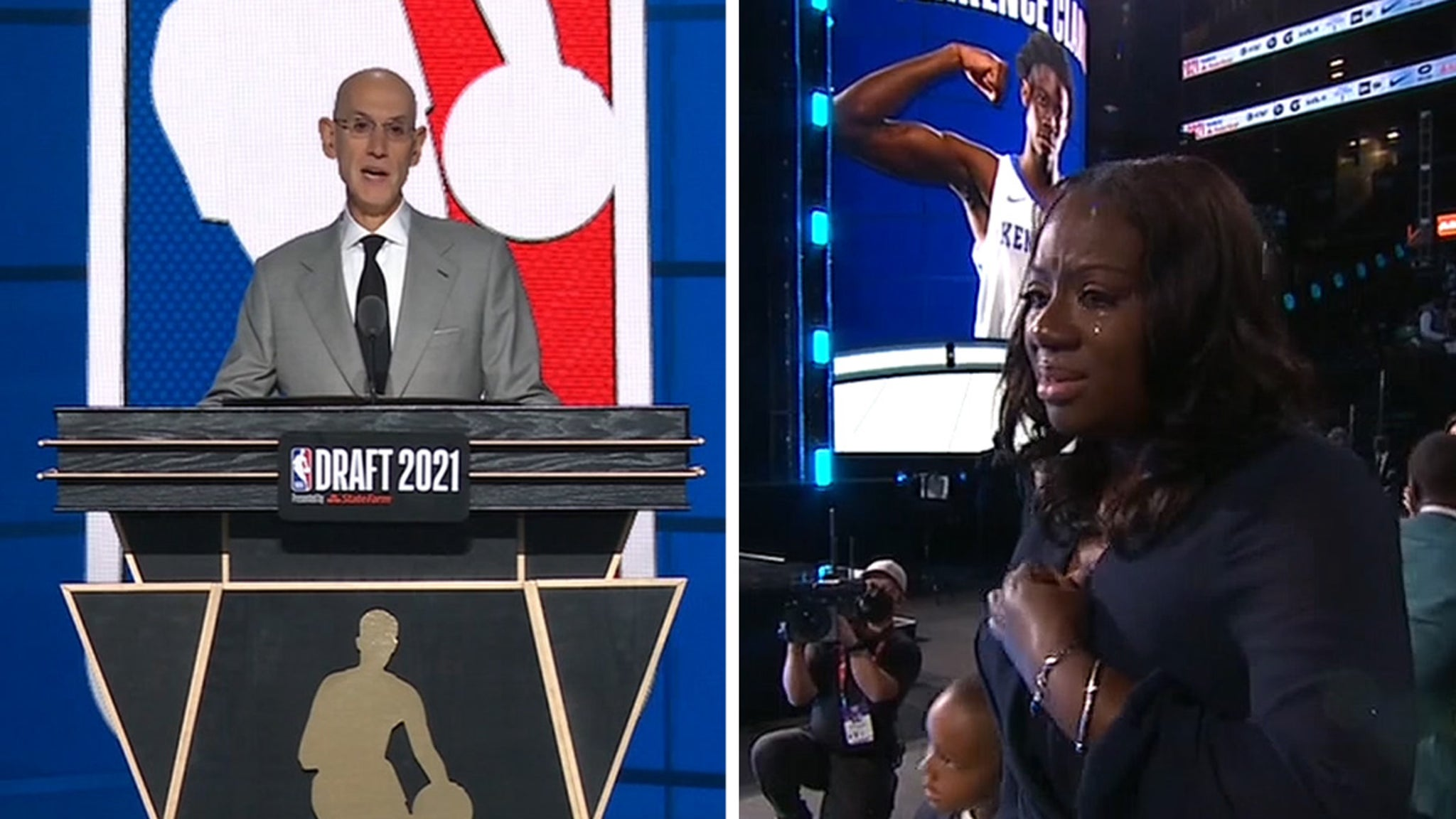 NBA Pays Tribute To Terrence Clarke With Honorary Draft Pick thumbnail