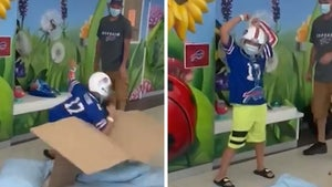 11-Year-Old Bills Fan Does Table-Smashing Celebration After Beating Cancer