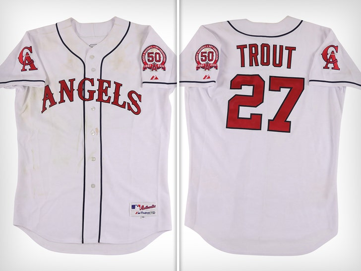 Mike Trout's 1st MLB Jersey Hits Auction Block, Should Sell For Over $1 Mil!.jpg