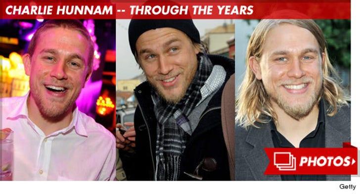 Charlie Hunnam -- Through the Years!