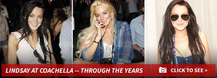 Lindsay at Coachella -- Through the Years!