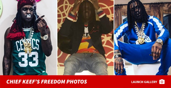 Chief Keef's Freedom Photos