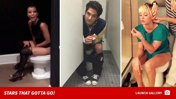 Celebrity Toilet Selfies