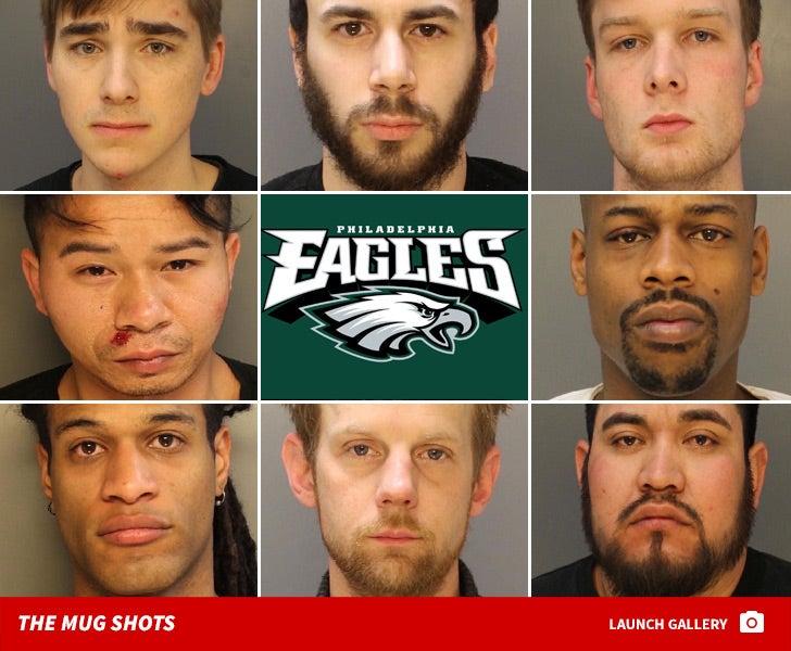 Eagles Fans -- The Mug Shots