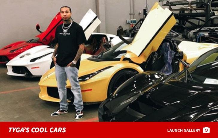 Tyga's Cool Cars