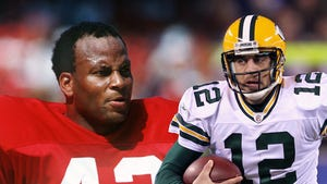 Ronnie Lott -- Aaron Rodgers Should 'Man Up' ... WEAR 49ers JERSEY!!!!
