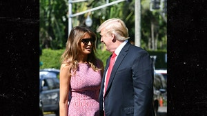Donald and Melania Trump Present United Front for Easter