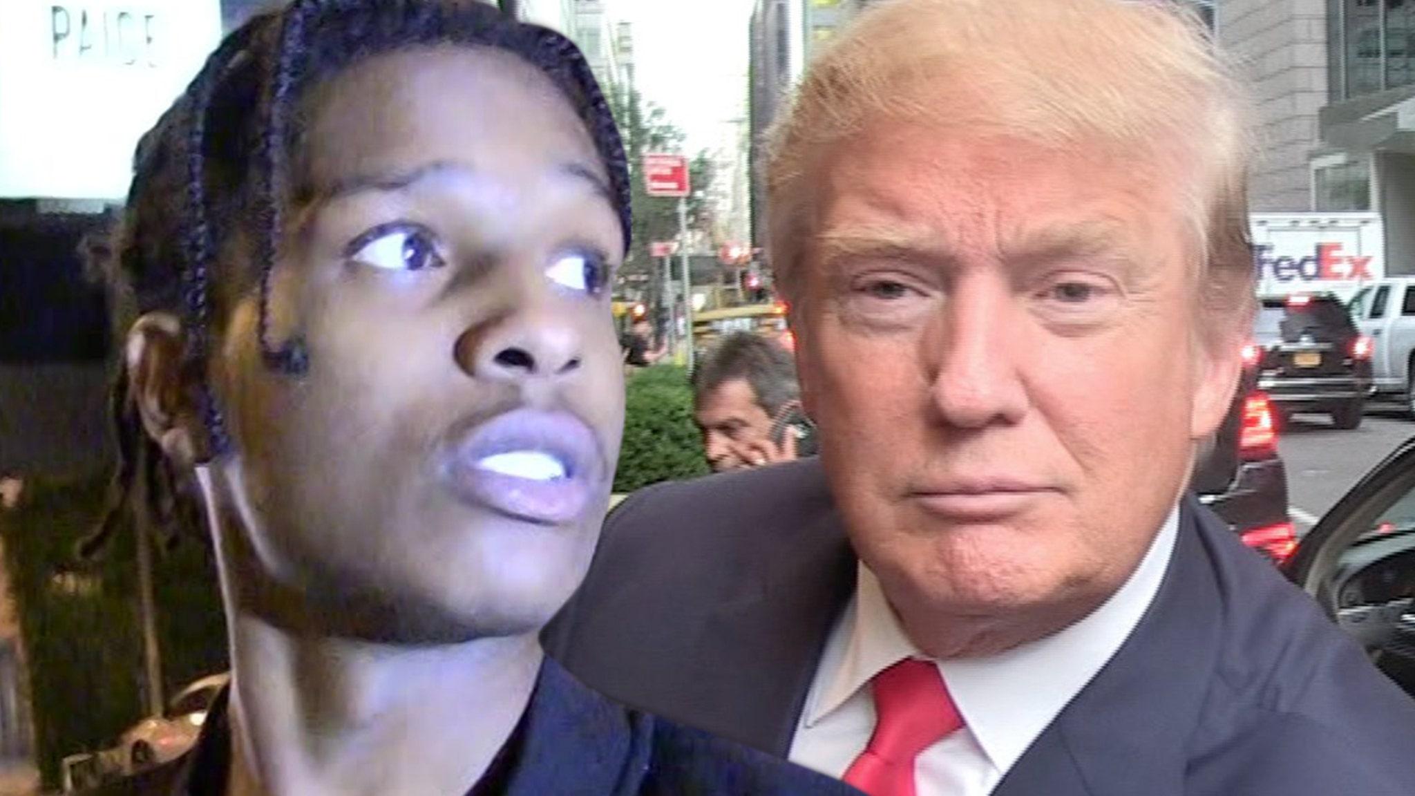 Donald Trump Will Guarantee Bail for A$AP Rocky