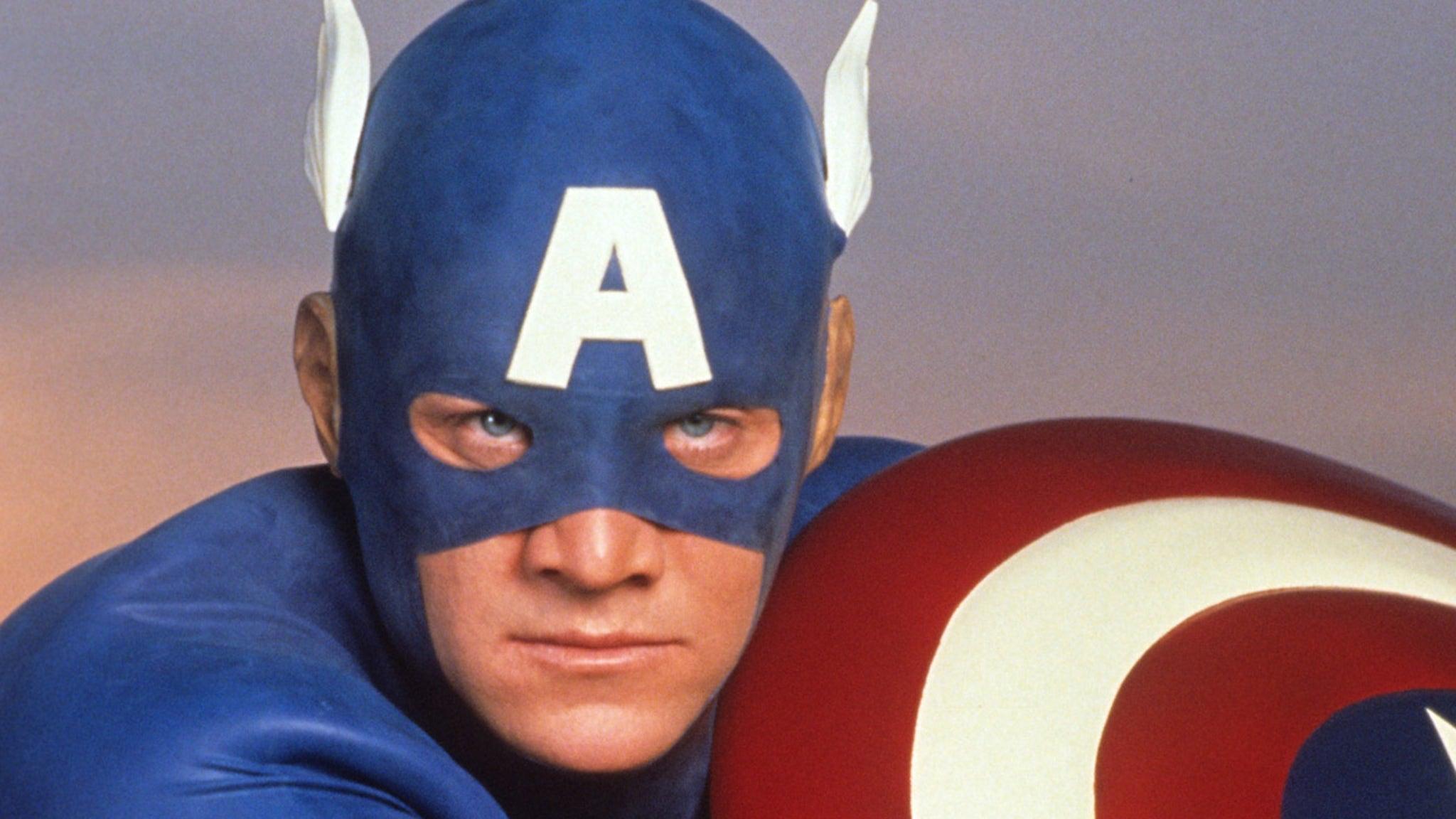 Steve Rogers in 1990 'Captain America' 'Memba Him?!