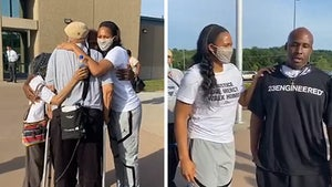 WNBA's Maya Moore Meets Man She Helped Free From Prison, Emotional Video