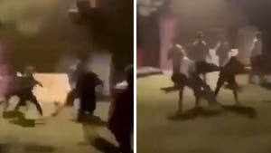 Miami Univ. Football Players Charged After Wild Brawl At Fraternity Caught On Video