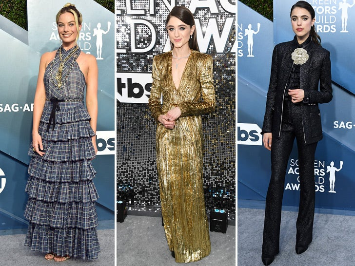 Stars Hit The 2020 SAG Awards