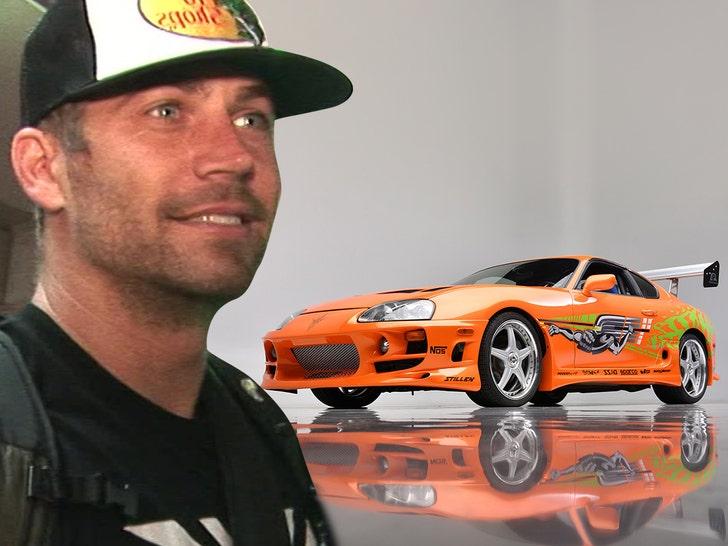 Paul walker sells car
