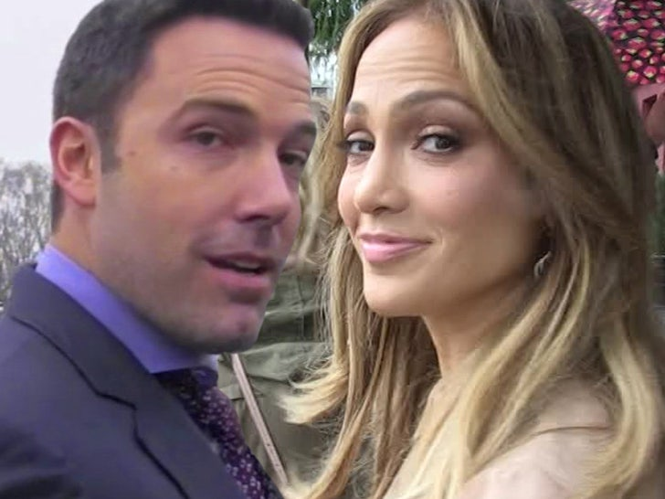 Ben Affleck with Jennifer Lopez 2021