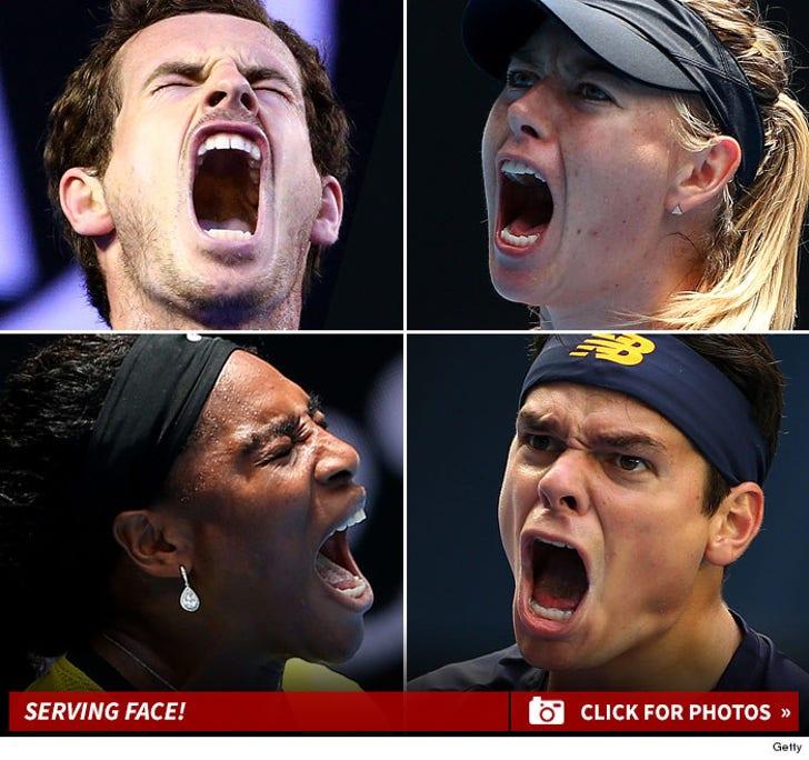 Australian Open -- Oh Faces
