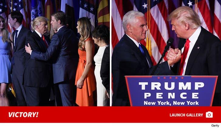 Donald Trump -- Victory