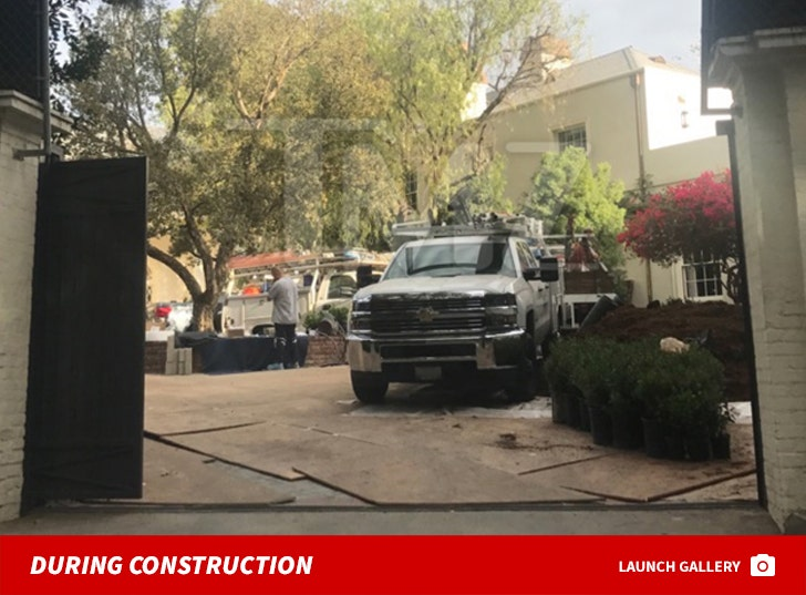 Taylor Swift's Beverly Hills House Construction