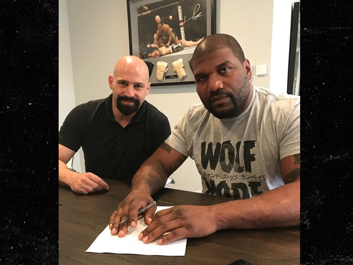 Rampage Jackson Surprises Manager With New 100k Range Rover
