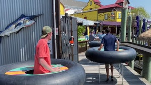 Maryland Bar-Goers Flock to Seafood Pub in Giant Inner Tubes, Coming Soon