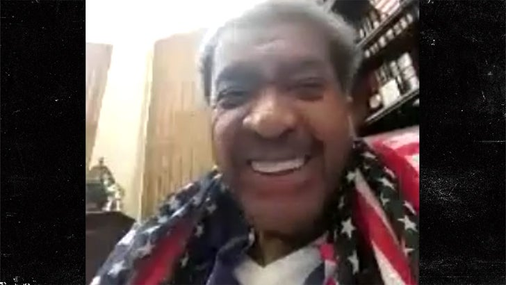 Don King Says He Buried the Hatchet with Mike Tyson, We're Talking Again!
