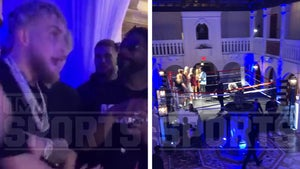 Jake Paul Hosts Versace Mansion Rager W/ Boxing Ring To Celebrate Ben Askren K.O.
