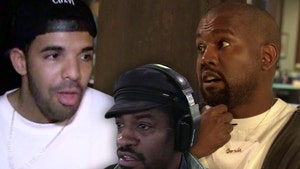 Drake Leaks Kanye Song Ft. Andre 3000 Taking Shots at Him, Folks Love It