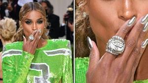 Ciara Wears Russell Wilson's Super Bowl Ring To Met Gala