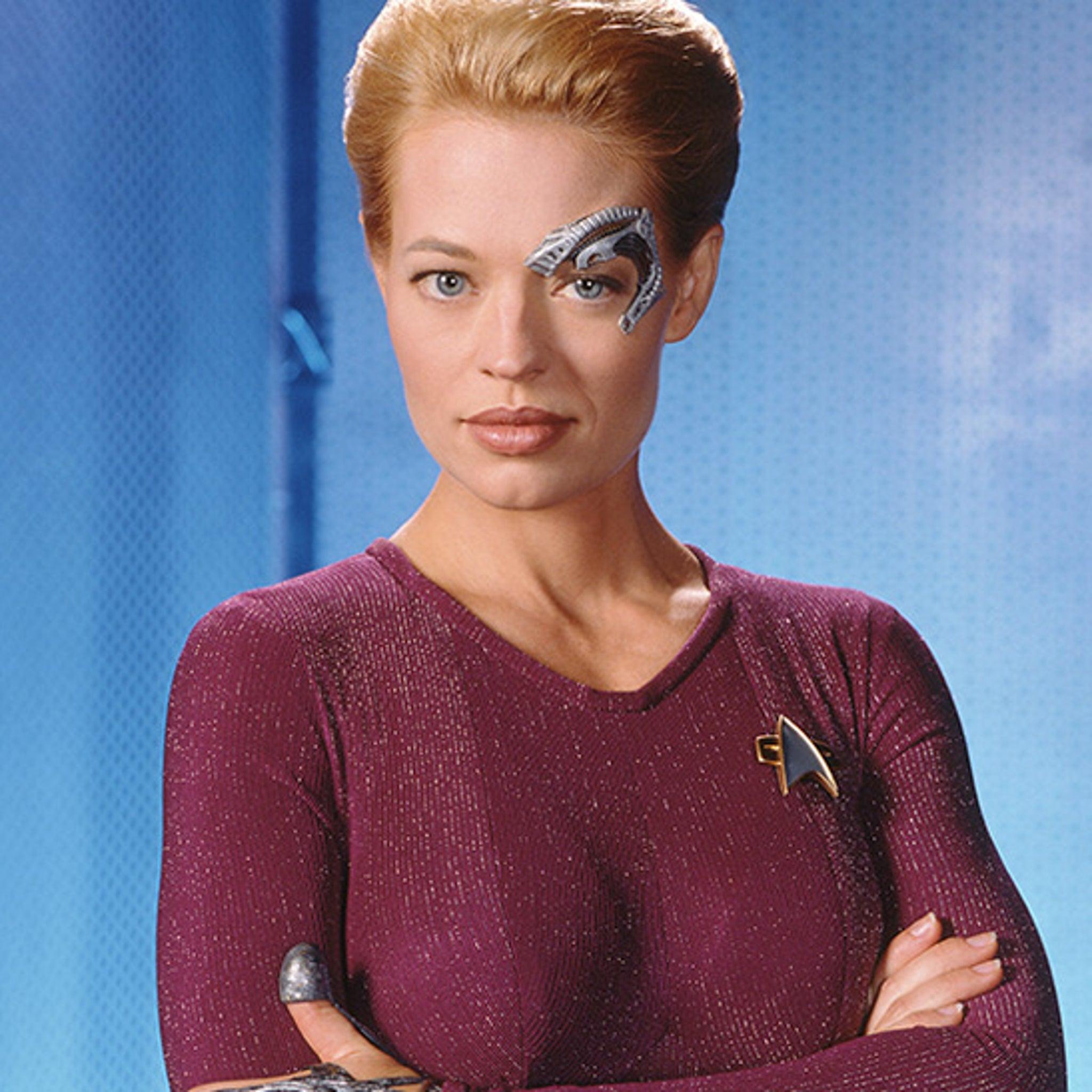 Seven of Nine on 'Star Trek: V...